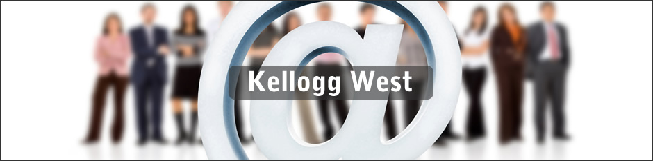 At symbol with Kellogg West Group
